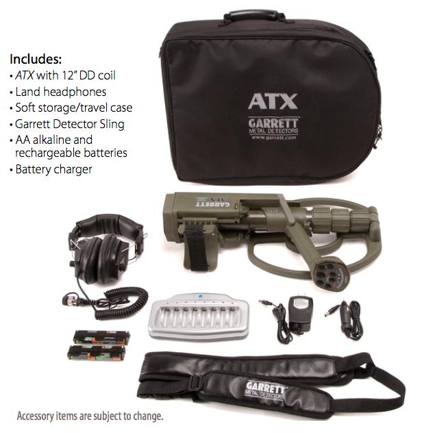 garrett atx detector standard package